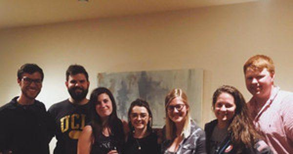 Maisie Williams Crashes a Game of Thrones Viewing Party in Los Angeles