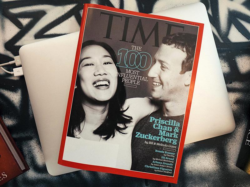 Mark Zuckerberg Gushes About 'Strong, Kind, Compassionate' Wife Priscilla Chan to Celebrate Time 100 Cover