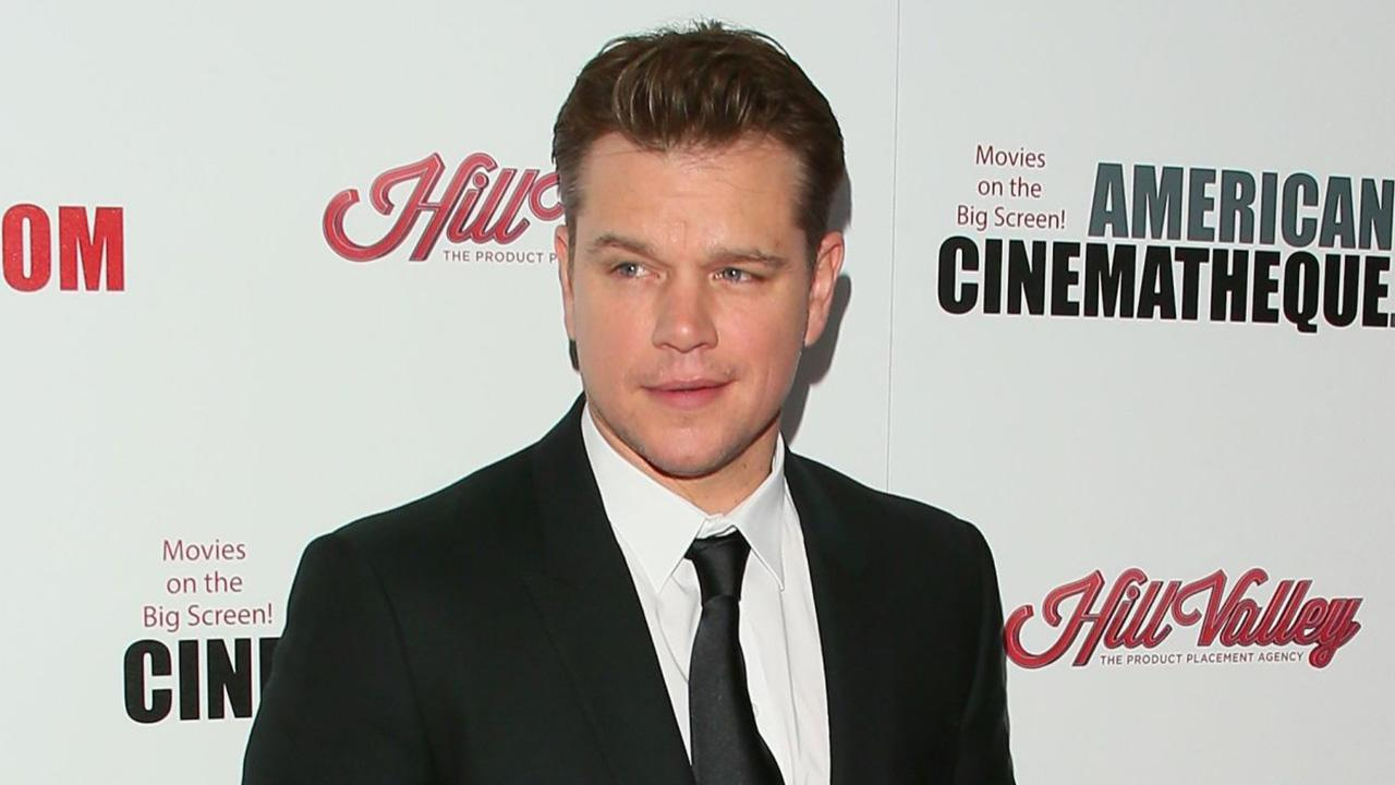 Matt Damon Works Out at Tufts University in Boston, Takes Selfies With Students -- See the Pics!