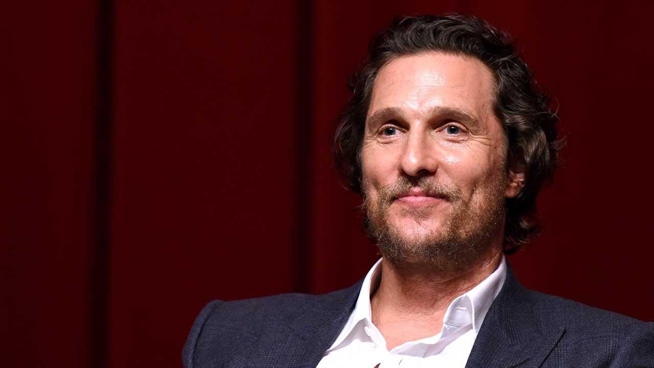 Matthew McConaughey Says His Kids are Learning Portuguese for the Holidays, Dishes On Acting With a Real Tiger