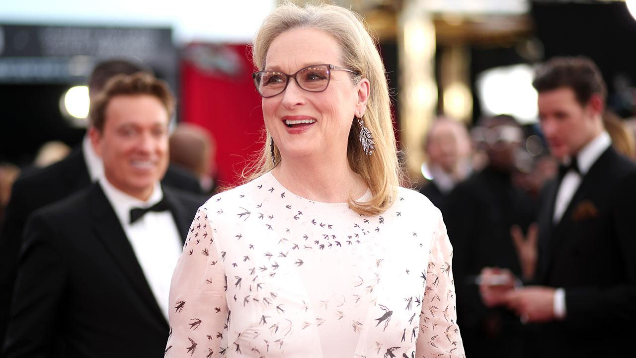 Meryl Streep Reacts to President Donald Trump Calling Her 'Over-Rated' in Another Passionate Speech