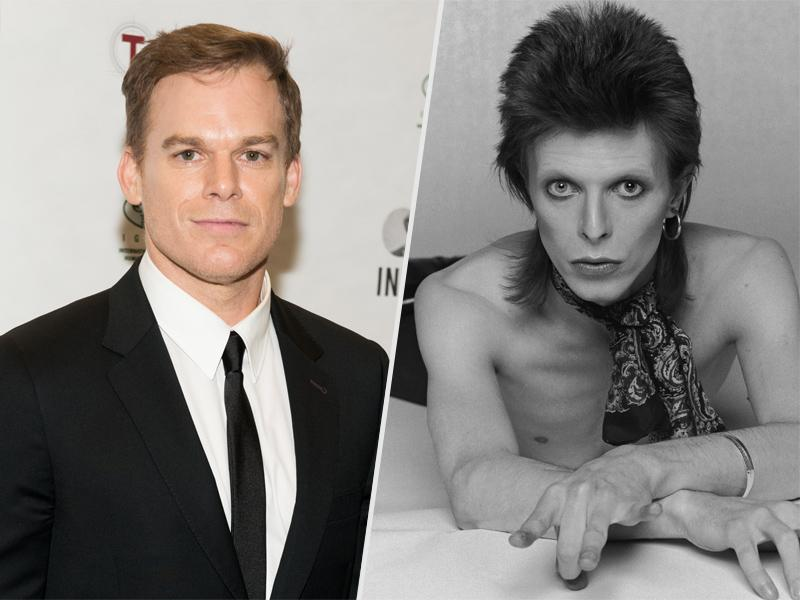 Michael C. Hall Discusses Playing David Bowie Character on S