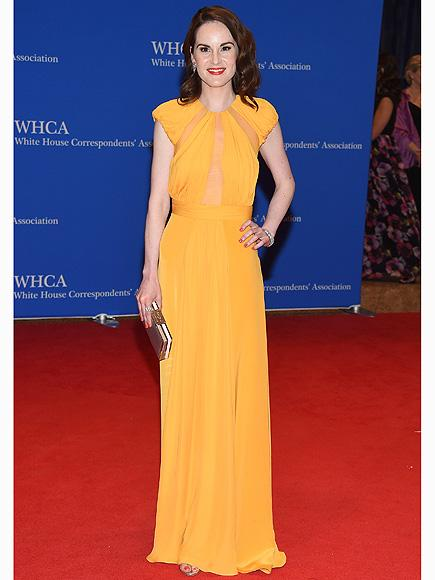 Michelle Dockery Returns to the Red Carpet for the First Time Following Fianc�'s Tragic Death