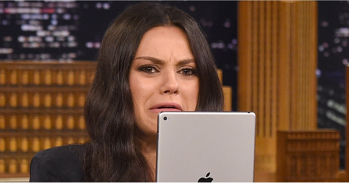 Mila Kunis Makes the Funniest Faces During Her Stop on The Tonight Show