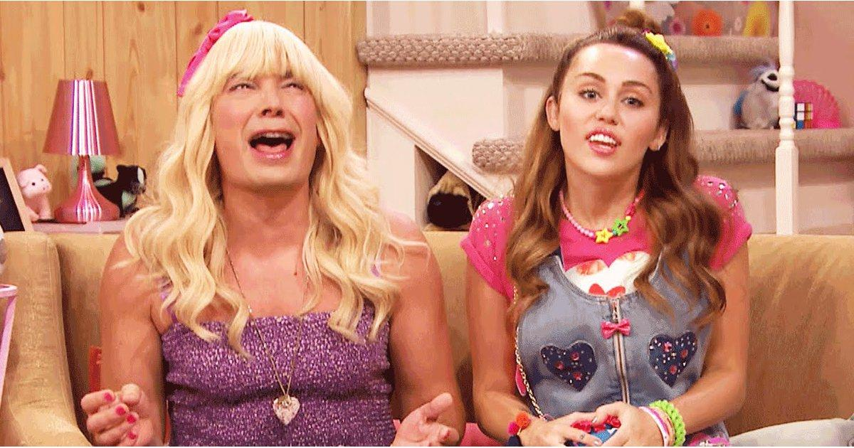 Miley Cyrus Looks So Much Like Her Old Self During