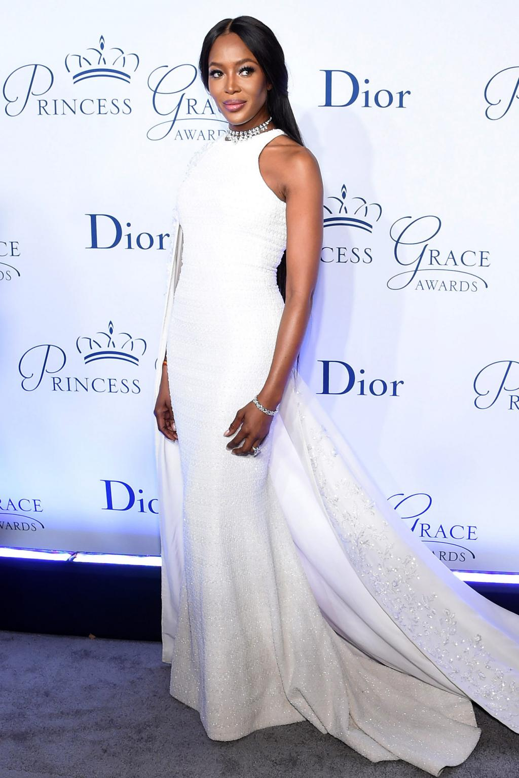 Naomi Campbell Looks Regal at the Princess Grace Awards Gala in N.Y.C.