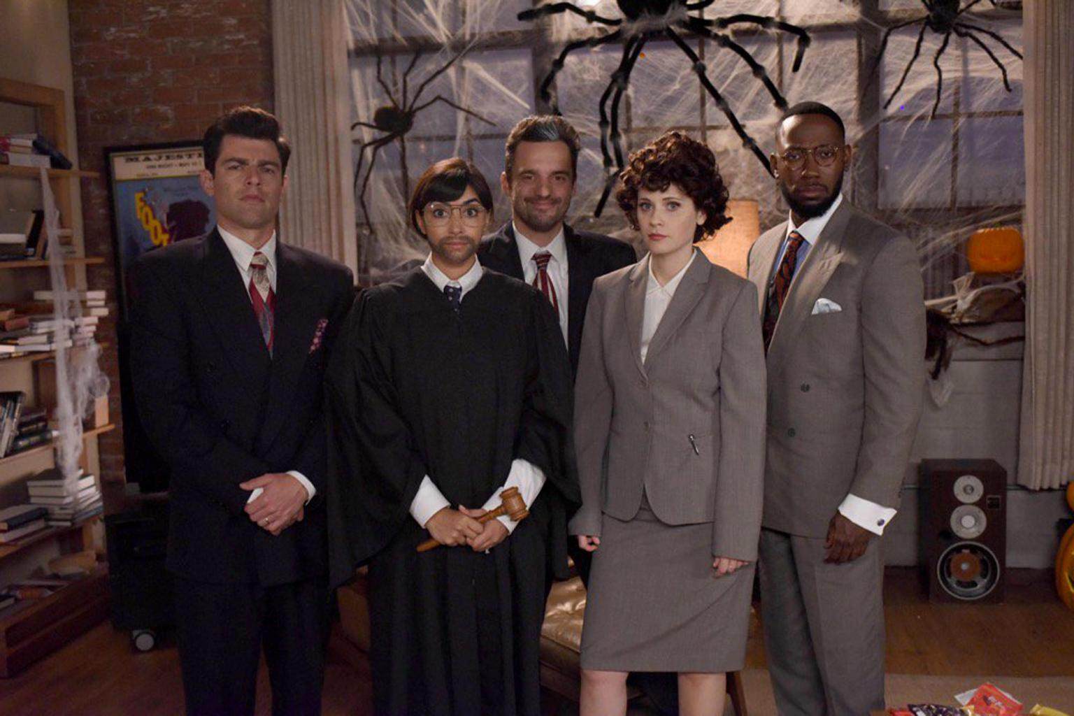 New Girl Cast Found Guilty of Having the Perfect People v. O.J. Simpson Costumes