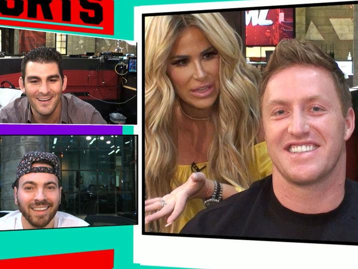 NFL's Kroy Biermann -- I'd Try Mma ... If My Famous Wife Let Me (Video)