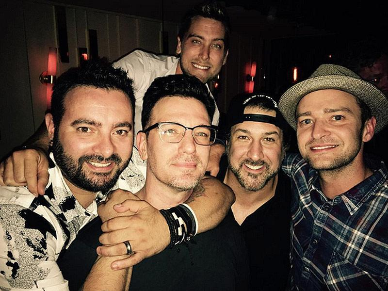 'Nsync Reunion Alert! The Boy Band Reunites to Celebrate Jc Chasez's 40th Birthday