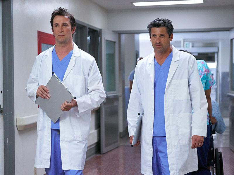 Patrick Dempsey and Noah Wyle Reveal Why They're 'In Awe' of Fellow TV Doctor Alan Alda
