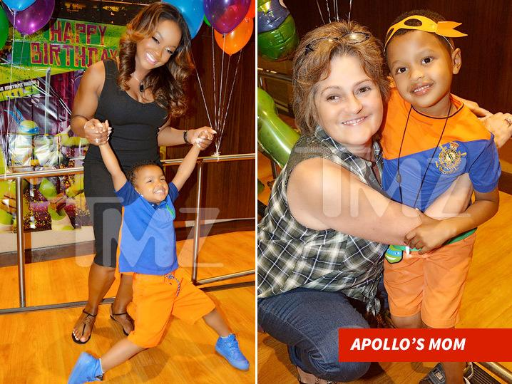 Phaedra Parks -- Son's 6th Bday Bash ... Family's All Here Except ... (Photos)