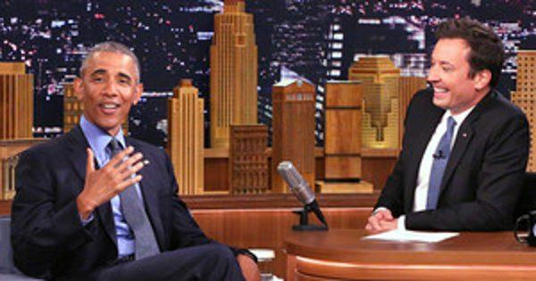 President Obama Joins Jimmy Fallon for Slow Jamming, Thank You Notes, and Donald Trump Jokes
