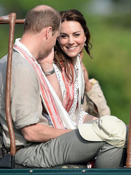 Prince William and Princess Kate Take on Indian Wilderness!