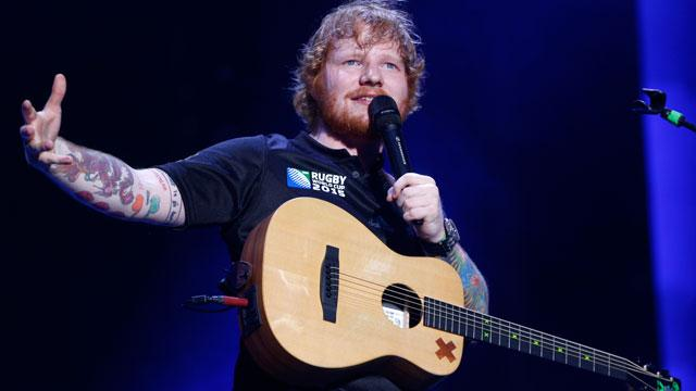 Random! Ed Sheeran Played His New Album for the 'Game of Thrones' Cast During 'Surreal' House Party