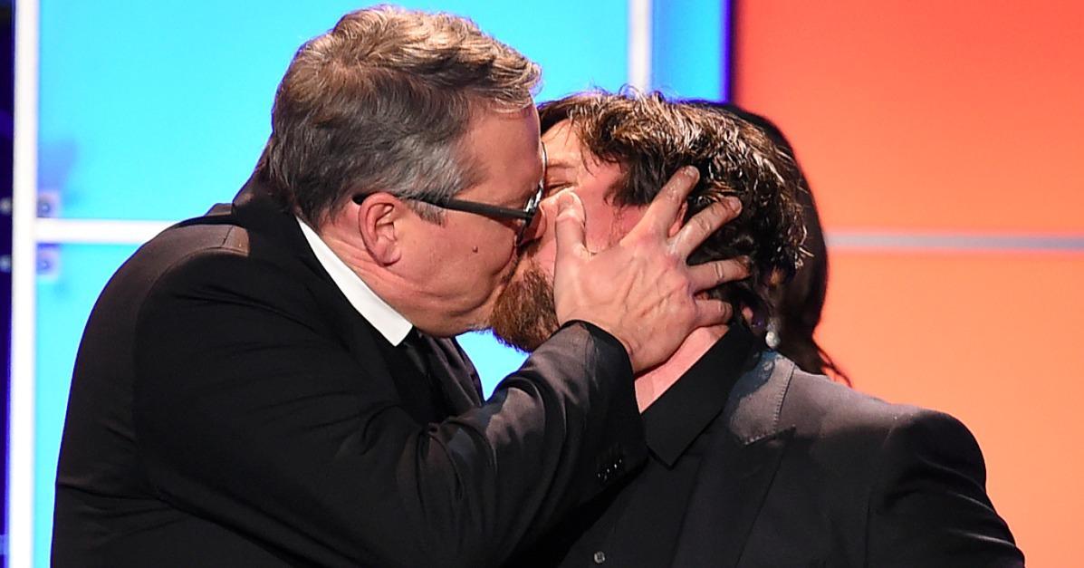 Relive Those Awkward Critics' Choice Kisses Between Christia