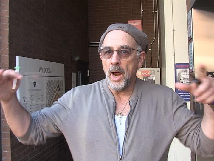 Richard Schiff Says the Press Should Press Trump (Video)