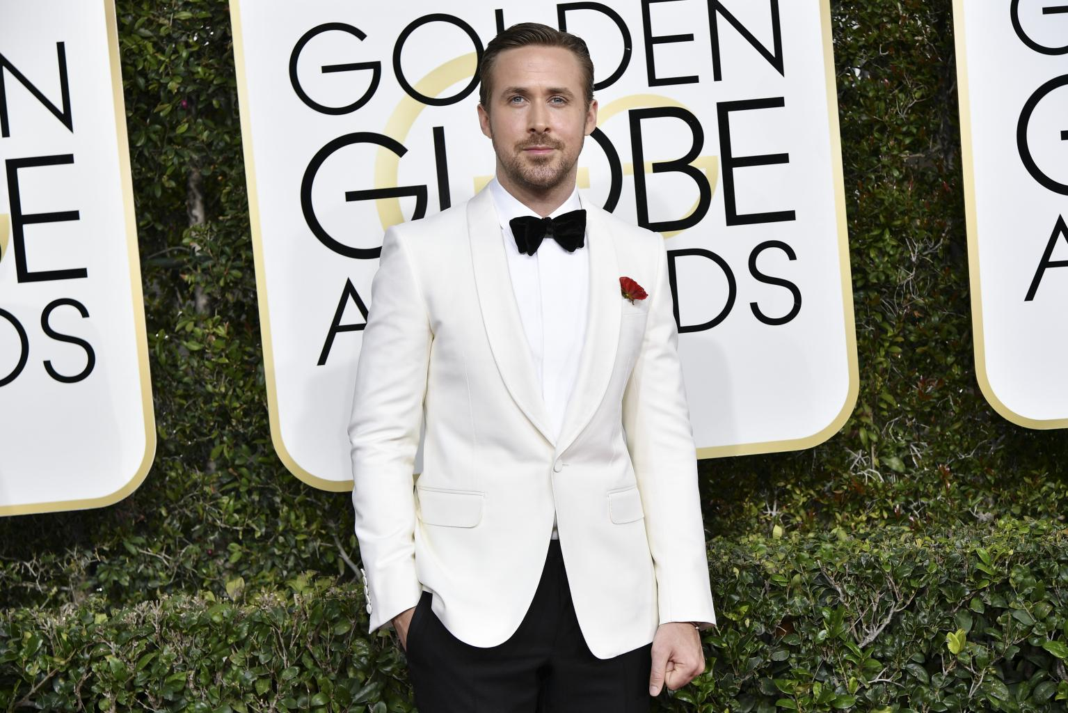 Ryan Gosling Wins Golden Globe For Best Actor in a Motion Picture Comedy or Musical