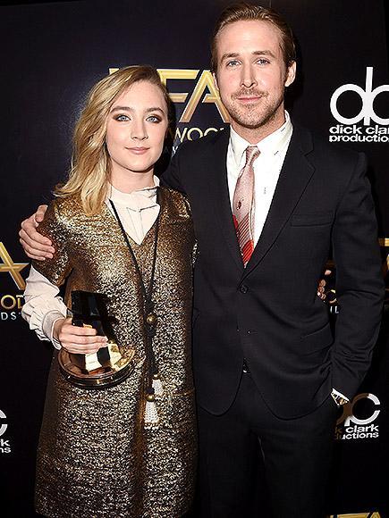 Saoirse Ronan Calls Ryan Gosling 'a Blond Canadian Jesus' Af