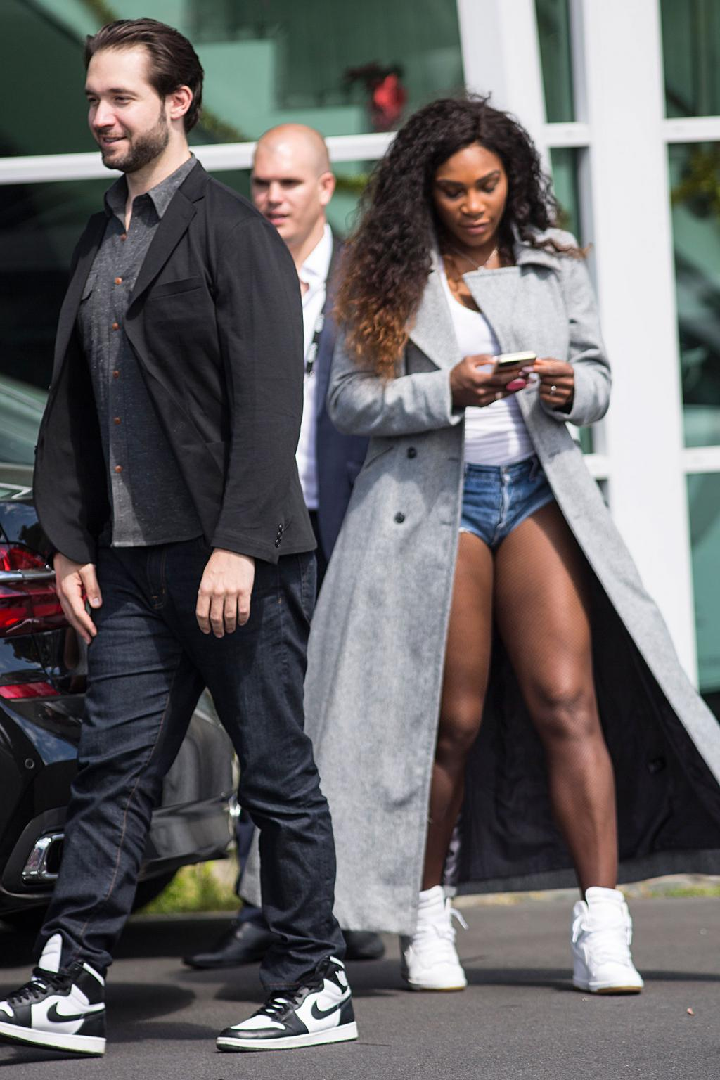 Serena Williams Debuts Engagement Ring from Fianc'  Alexis Ohanian