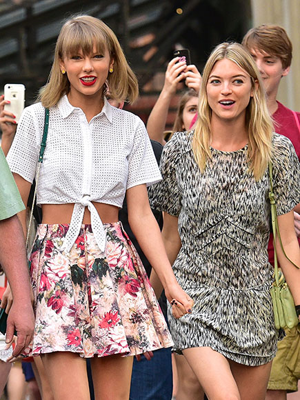 Squad Member Martha Hunt Weighs in on Taylor Swift and Tom Hiddleston Being  Happy in Love'