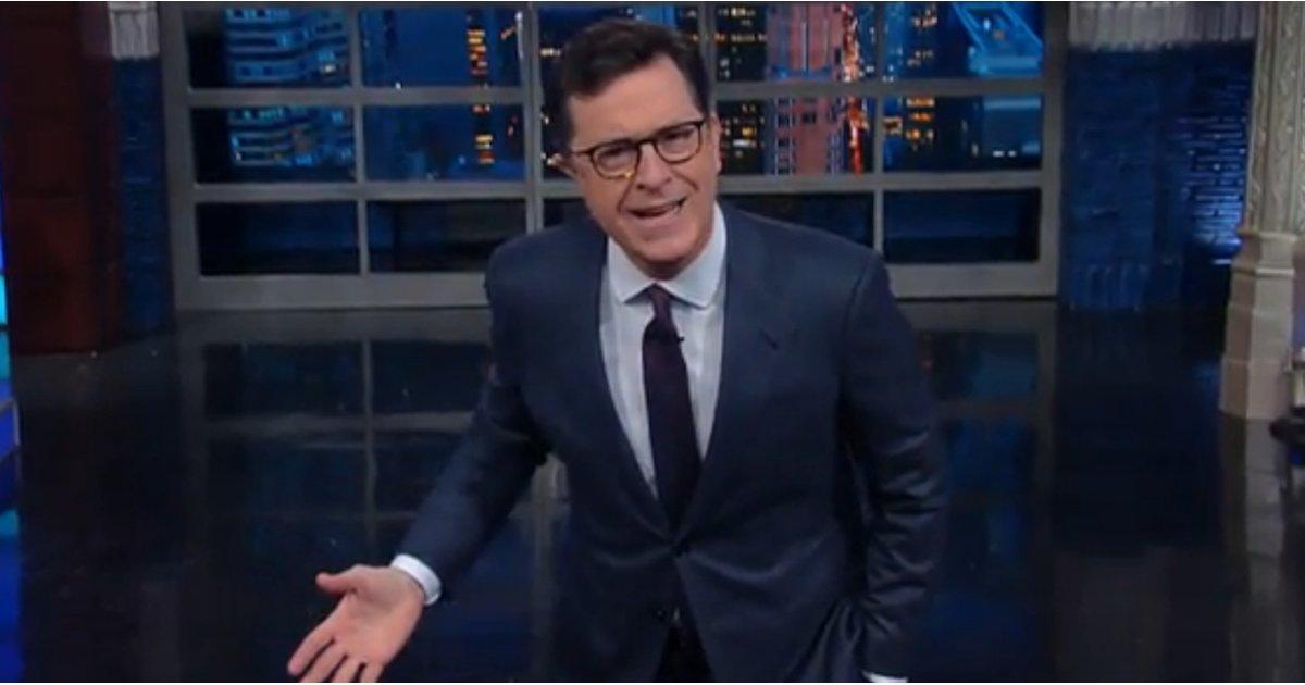 Stephen Colbert Blasts Donald Trump For Calling Meryl Streep