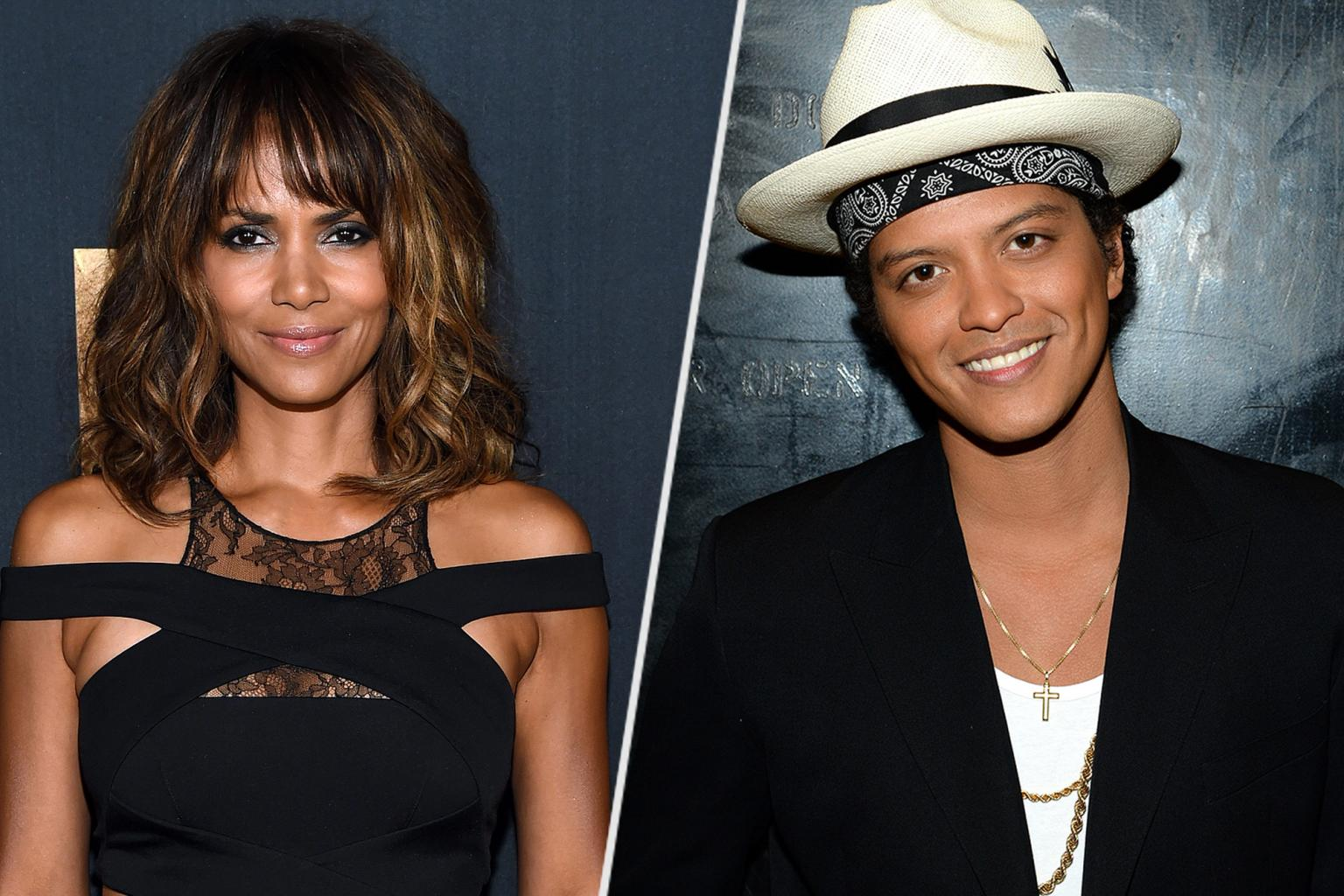 Surprise! Halle Berry Lends Her Voice on Bruno Mars '  Album 24K Magic