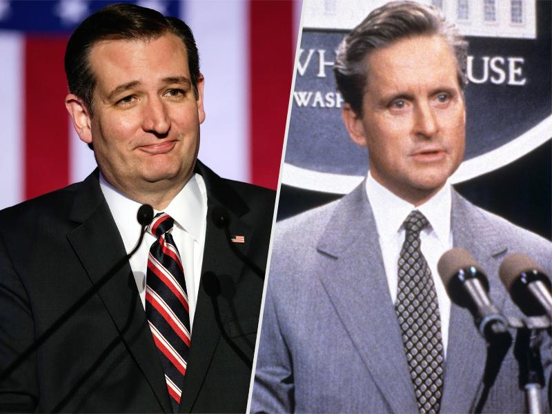 Ted Cruz Channels Michael Douglas in The American President