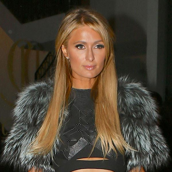 That's Hot: Paris Hilton's Cropped Jacket Is What Your Nye Outfit Is Missing