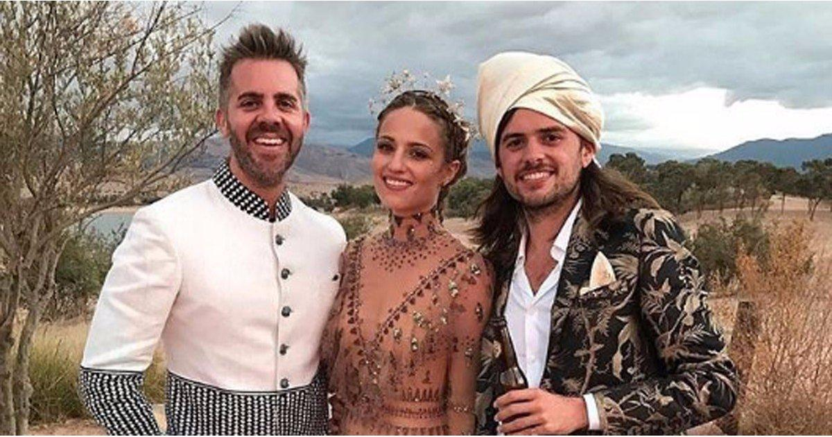 These Gorgeous Photos From Dianna Agron's Wedding Will Transport You Straight to Morocco