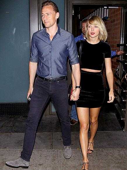 Tom Hiddleston Reunites with Taylor Swift in Rhode Island - Courtesy of Her Private Plane