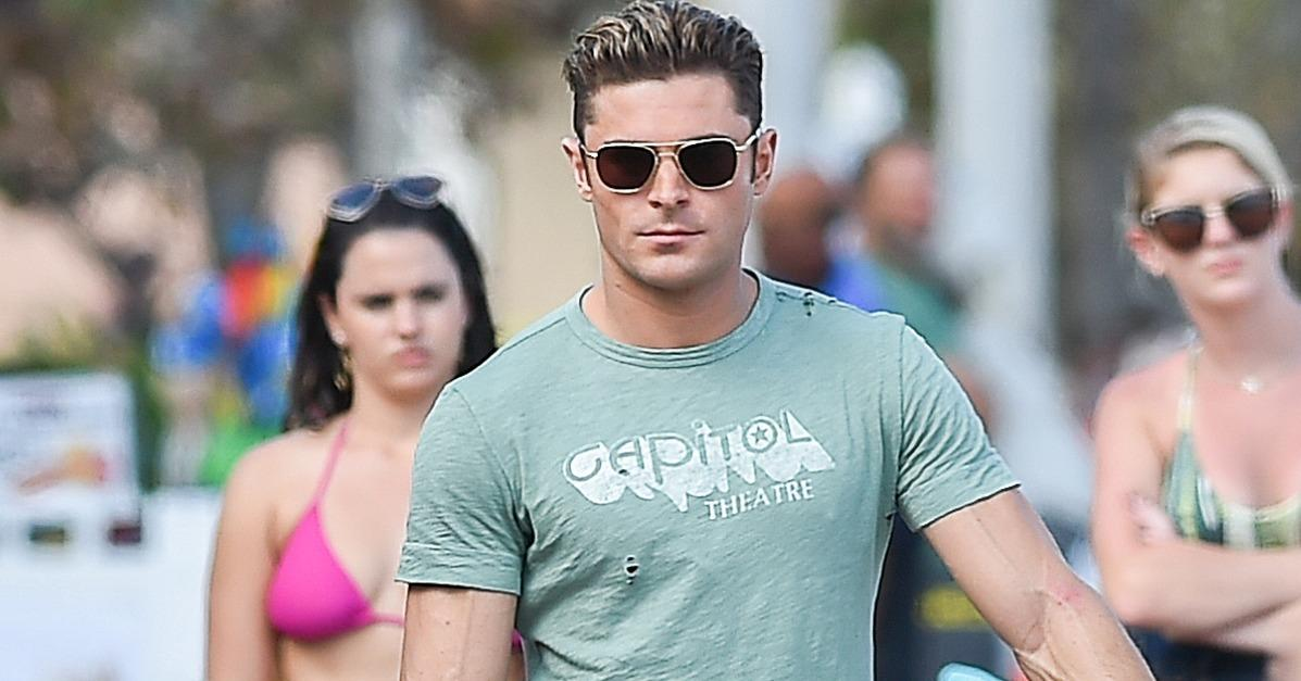 Whoa! Zac Efron Is So Ripped, His Veins Are Popping Out of H