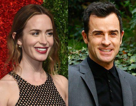 Why Justin Theroux Was Scared to Meet Emily Blunt's New Baby