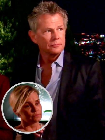 Yolanda Hadid and David Foster's Marriage Shows Strain on Rh