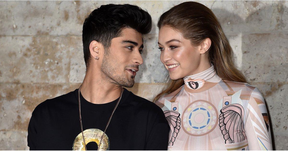 Zayn Malik Debuts His New Look During Paris Fashion Week With Gigi Hadid