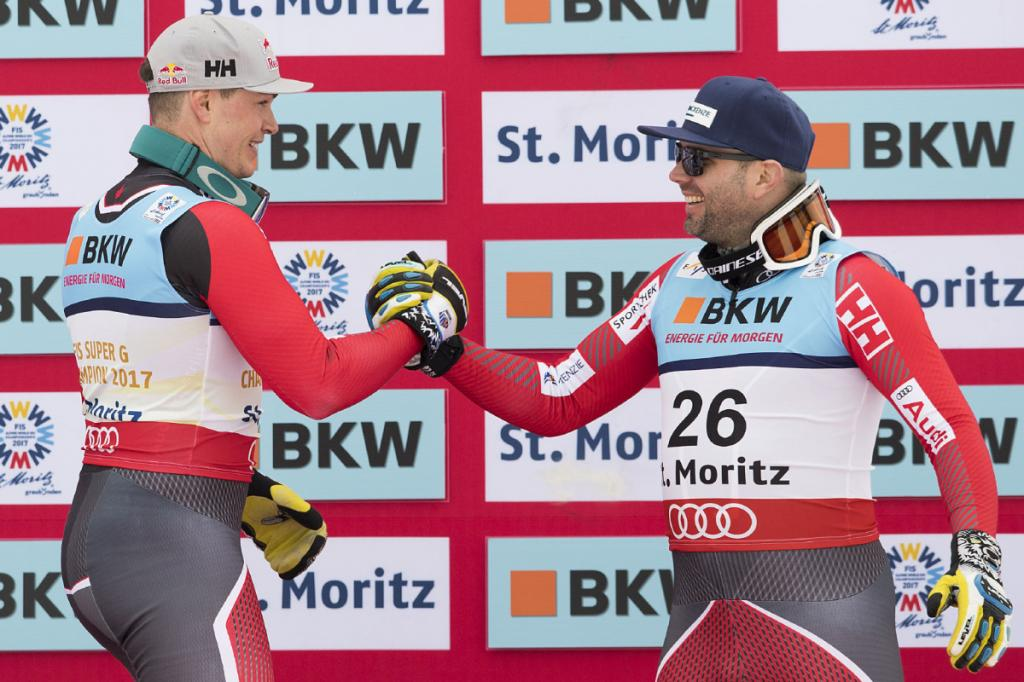 Erik Guay Manuel Osborne-Paradis will lead Canada's Olympic alpine ski team