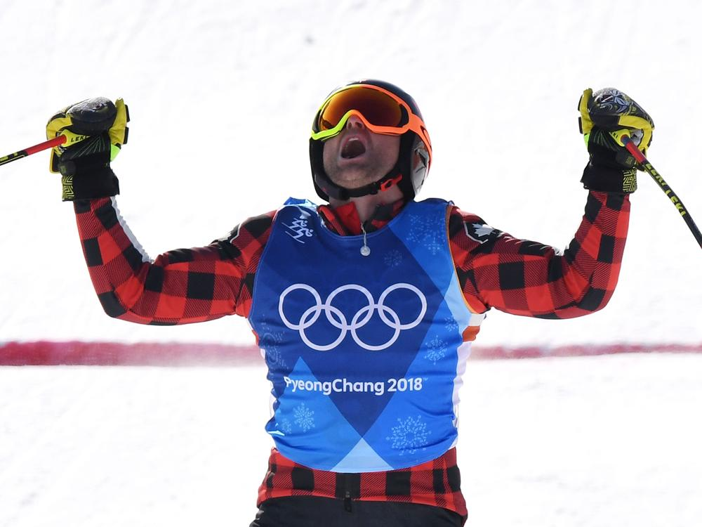 Brady Leman conquers struggle and heartbreak wins gold in Olympic ski cross