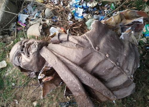 2 Lenin statues brought down in Tripura CPM blames BJP workers Times of India