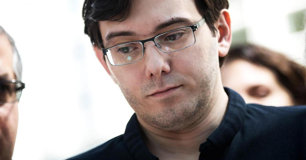 Pharma bro Martin Shkreli sentenced to 7 years in prison says This is my fault