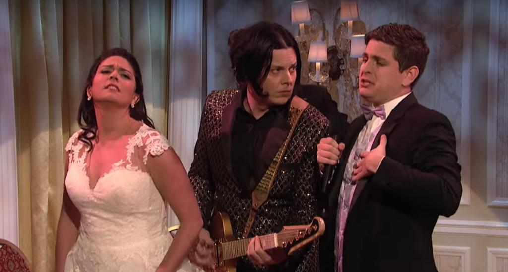 Jack White ruins John Mulaneys wedding in unaired SNL sketch Watch