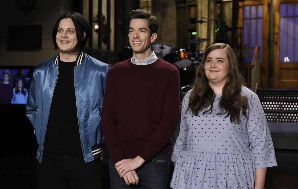 Watch Jack White play a wedding guitarist caught in a love triangle in unaired SNL sketch NME