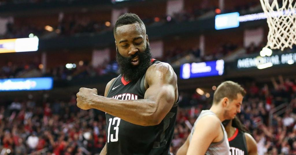 Ugly Delicious James Harden Powers Houston in a Grisly Game 1 Win