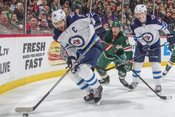 Jets thumped by Wild for first loss of series
