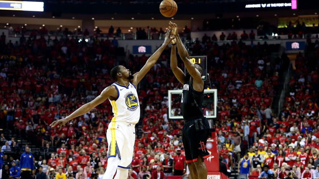 Kevin Durant said the Warriors expected James Harden to tire out in the second half