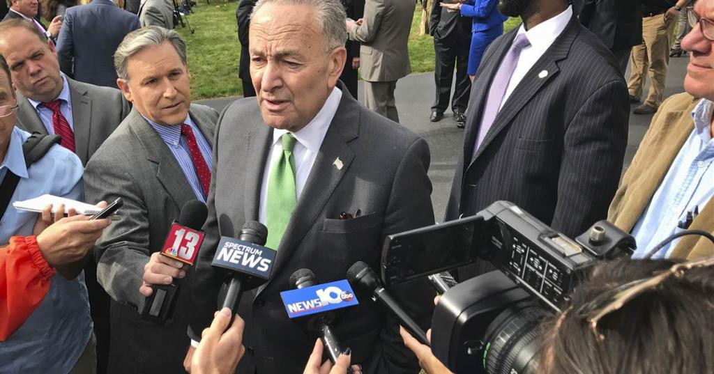 Phony allegation Schumer slams forged sex harassment documents