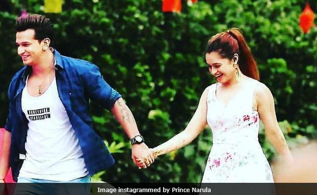 Are Prince Narula And Yuvika Chaudhary Engaged See The Viral Video