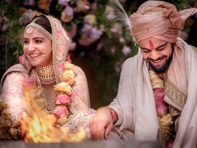 It's official: Anushka Sharma and Virat Kohli are married - The Express Tribune