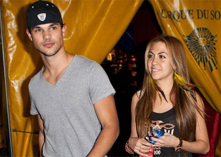 Taylor Lautner Sara Hicks Pictures to pin on Pinterest