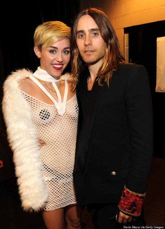 Miley Cyrus and Jared Leto are apprently hooking up