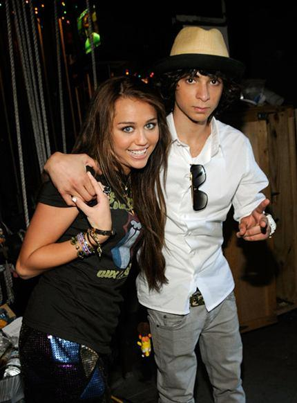 Adam g sevani and miley cyrus