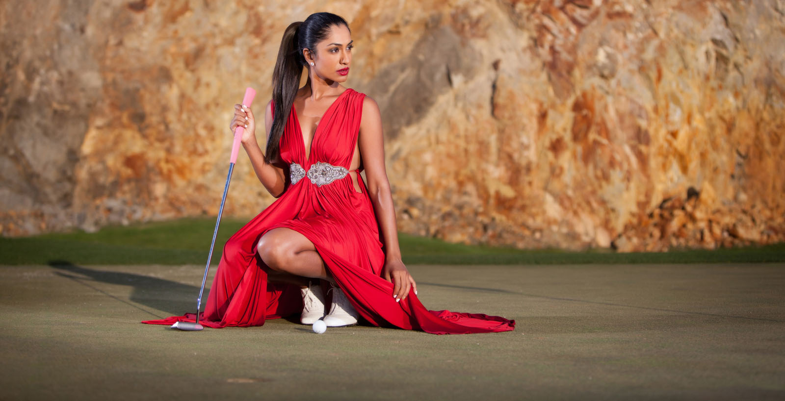 Seema Sadekar   The Golf Fashionista